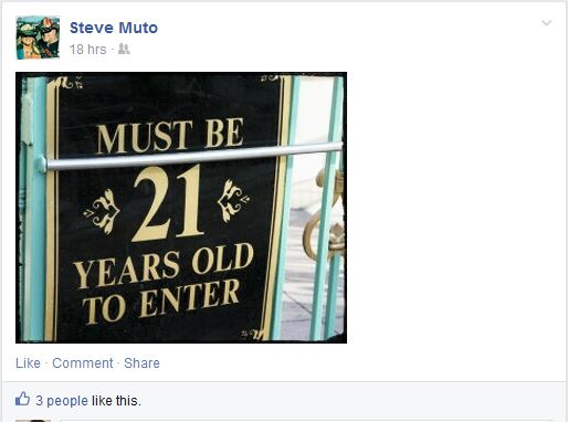 Steve Muto Bully Countdown Rub It In - ASSHOLE 21