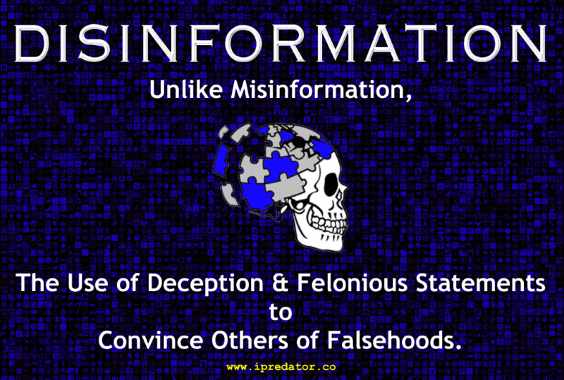 Steve Muto Bully - Disinformation