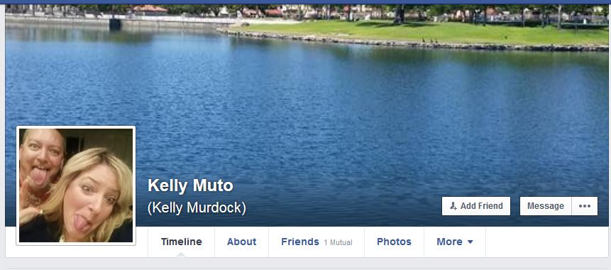 Kelly Muto Bully Rub It In Facebook Profile