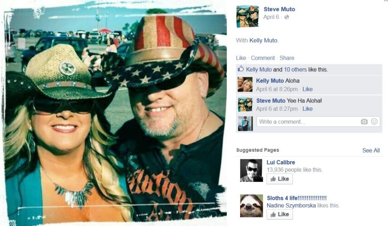 Steve Muto Big Kahuna Facebook Rub it In