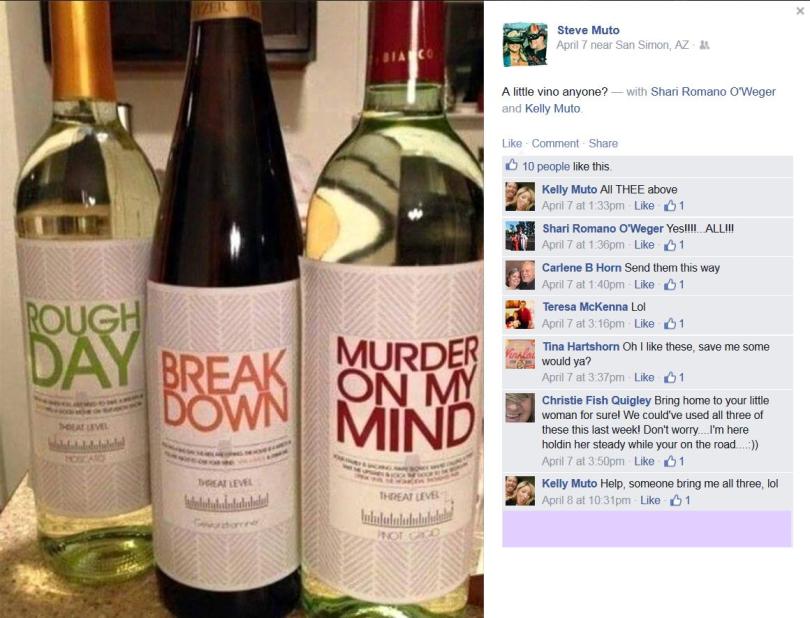 Steve Muto Bully - Murder on my Mind Wine