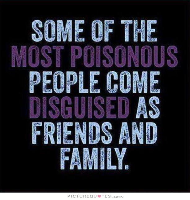 Steve Muto - Some of the most poisonous people com disguised as friends and family